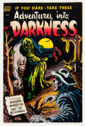 Golden Age (1938-1955):Horror, Adventures Into Darkness #5 (Standard, 1952) Condition: VG/FN....