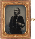 Photography:Ambrotypes, George Armstrong Custer: One of the Most Important Original From-Life Photographic Images Ever to Come to Market. ...