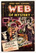 Golden Age (1938-1955):Horror, Web of Mystery #1 (Ace, 1951) Condition: VG/FN....