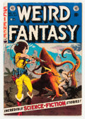 Golden Age (1938-1955):Science Fiction, Weird Fantasy #21 (EC, 1953) Condition: VG/FN....