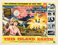 """Movie Posters:Science Fiction, This Island Earth (Universal International, 1955). Half Sheet (22""""X 28"""") Style A.. ..."""
