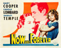"Movie Posters:Drama, Now and Forever (Paramount, 1934). Half Sheet (22"" X 28"") Style B....."