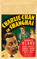"Movie Posters:Mystery, Charlie Chan in Shanghai (Fox, 1935). Window Card (14"" X 22"").. ..."