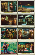 "Movie Posters:Science Fiction, Forbidden Planet (MGM, 1956). Lobby Card Set of 8 (11"" X 14"").. ...(Total: 8 Items)"