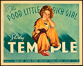"Movie Posters:Musical, The Poor Little Rich Girl (20th Century Fox, 1936). Title LobbyCard (11"" X 14""). Musical.. ..."