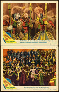 """Movie Posters:Fantasy, The Wizard of Oz (MGM, R-1949). Lobby Cards (2) (11"""" X 14"""").. ... (Total: 2 Items)"""