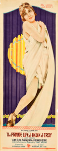 "Movie Posters:Comedy, The Private Life of Helen of Troy (First National, 1927). Insert(14"" X 36"").. ..."