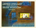 "Movie Posters:Hitchcock, Rear Window (Paramount, 1954). Half Sheet (22"" X 28"") Style B.. ..."