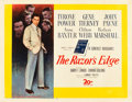 "Movie Posters:Drama, The Razor's Edge (20th Century Fox, 1946). Half Sheet (22"" X 28"")Style B.. ..."