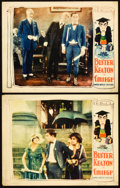 "Movie Posters:Comedy, College (United Artists, 1927). Lobby Cards (2) (11"" X 14"").From the Leonard and Alice Maltin Collection.. ... (Total: 2Items)"