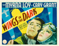 "Movie Posters:Adventure, Wings in the Dark (Paramount, 1935). Half Sheet (22"" X 28"").. ..."