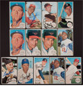 Baseball Cards:Autographs, 1964 Topps Giant and 1971 Topps Super Signed Cards Lot of 13....