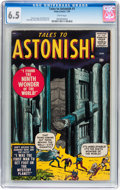 Silver Age (1956-1969):Horror, Tales to Astonish #1 (Marvel, 1959) CGC FN+ 6.5 White pages....
