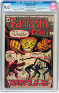 Silver Age (1956-1969):Superhero, Fantastic Four #8 (Marvel, 1962) CGC VF/NM 9.0 Off-white to white pages....