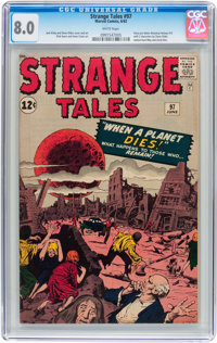 Strange Tales #97 (Marvel, 1962) CGC VF 8.0 White pages