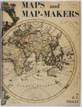 Books:Maps & Atlases, [Maps]. R. V. Tooley. Maps and Map-Makers. Bonanza, [1962]. Later edition. Quarto. Jacket spine toned, one tear to j...
