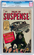 Silver Age (1956-1969):Adventure, Tales of Suspense #31 (Marvel, 1962) CGC VF- 7.5 Off-white to white pages....