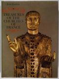 Books:Art & Architecture, Jean Taralon. Treasures of the Churches of France. Braziller, 1966. First American edition, first printing. Mild rub...