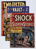 Golden Age (1938-1955):Science Fiction, EC Comics Group (EC, 1952-53) Condition: Average VG.... (Total: 3Comic Books)