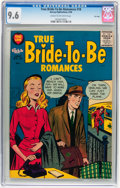 Silver Age (1956-1969):Romance, True Bride-to-Be Romances #18 File Copy (Harvey, 1956) CGC NM+ 9.6Cream to off-white pages....