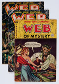 Golden Age (1938-1955):Horror, Web of Mystery Group (Ace, 1952-54) Condition: Average VG+....(Total: 7 Comic Books)