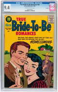 Silver Age (1956-1969):Romance, True Bride-to-Be Romances #20 File Copy (Harvey, 1956) CGC NM 9.4Cream to off-white pages....