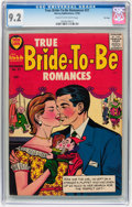 Silver Age (1956-1969):Romance, True Bride-to-Be Romances #21 File Copy (Harvey, 1956) CGC NM- 9.2Cream to off-white pages....