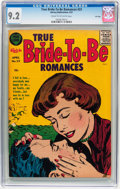 Silver Age (1956-1969):Romance, True Bride-to-Be Romances #23 File Copy (Harvey, 1957) CGC NM- 9.2Cream to off-white pages....