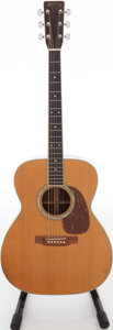 Musical Instruments:Acoustic Guitars, 1978 Martin M-38 Natural Acoustic Guitar, Serial # 404984.. ...