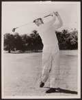 Golf Collectibles:Autographs, Ben Hogan Signed Photograph, Inscribed to PGA President WarrenOrlick....