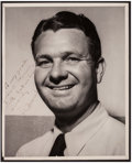Golf Collectibles:Autographs, Jimmy Demaret Signed Photograph. ...