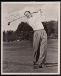 Golf Collectibles:Autographs, Byron Nelson Signed Photograph, Inscribed to PGA President WarrenOrlick....