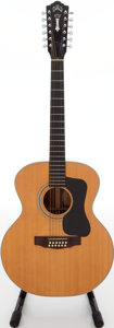 Musical Instruments:Acoustic Guitars, 1973 Guild F-212 XL Natural 12-String Acoustic Guitar, Serial#77440. . ...