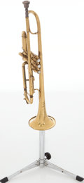 "Musical Instruments:Horns & Wind Instruments, Besson Class A ""Prototype"" Brass Trumpet, Serial # 128347...."
