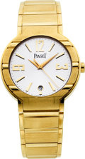 "Timepieces:Wristwatch, Piaget Ref 27700 Gold ""Automatíque"" Gent's Wristwatch. ..."