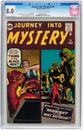 Silver Age (1956-1969):Horror, Journey Into Mystery #74 (Marvel, 1961) CGC VF 8.0 Off-white towhite pages....