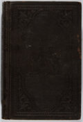 Books:Americana & American History, US Congress. Report of the Commissioner of Patents for the Year1855. Agriculture. Wendell, 1856. Rubbing and li...