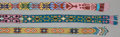 American Indian Art:Beadwork and Quillwork, THREE CALIFORNIA LOOM-BEADED SASHES... (Total: 3 Items)