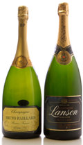 Champagne, Bruno Paillard Champagne . NV Premier Cuvee Magnum (1). Lanson Champagne . NV Black Label tl, scl Magnum... (Total: 2 Mags. )