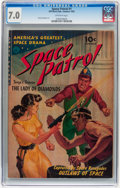 Golden Age (1938-1955):Science Fiction, Space Patrol #1 (Ziff-Davis, 1952) CGC FN/VF 7.0 Off-white pages....