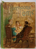 Books:Children's Books, [Children's Story Book]. Afternoons at Home. Lathrop, 1895.Binding worn with staining. Hinges broken. Lacking title...