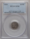 Bust Half Dimes: , 1830 H10C XF40 PCGS. PCGS Population (18/482). NGC Census: (6/511).Mintage: 1,200,000. Numismedia Wsl. Price for problem f...