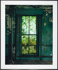 American:Modern, CHRISTOPHER BARNES (American, 20th Century). Green Window,1987. Exhibition C - print. 39-1/2 x 51 inches (100.3 x 129.5...