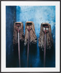 American:Modern, CHRISTOPHER BARNES (American, 20th Century). Mop Trio ,1987. Exhibition C - print. 28 x 35 inches (71.1 x 88.9 cm)\. Be...