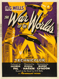 "Movie Posters:Science Fiction, The War of the Worlds (Paramount, 1953). Poster (30"" X 40"") Style Y.. ..."