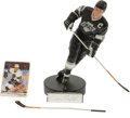 Hockey Collectibles:Others, Wayne Gretzky Signed Gartlan Statue. ...