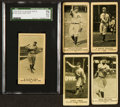 Baseball Cards:Lots, 1916 M101-4 and D329 Weil Baking Baseball Group (5). ...