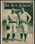 Baseball Collectibles:Publications, 1930-32 Babe Ruth and Lou Gehrig Publication. ...