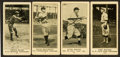 Baseball Cards:Lots, 1916 Herpolsheimer Co. (as M101-4) Group (4 Different) ...