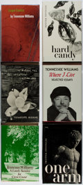 Books:Literature 1900-up, Tennessee Williams. Group of Six Books Published by New Directions.1945-1980. Near fine.... (Total: 6 Items)
